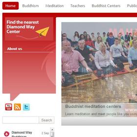 Ogólnoświatowa strona poświęcona Buddyzmowi Diamentowej Drogi