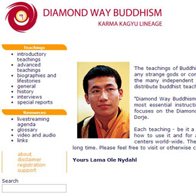 Nauki Buddyzmu Diamentowej Drogi on-line