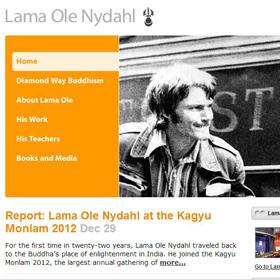 Oficjalna strona Lamy Ole Nydahla