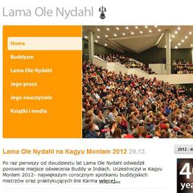 Strona poświęcona Lamie Ole Nydahlowi